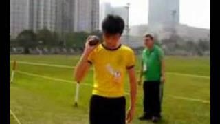 九龍西區學界田徑比賽   佐敦道官立小學 田徑隊 推鉛球