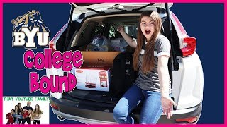 COLLEGE BOUND Moving To College Apartment / That YouTub3 Family