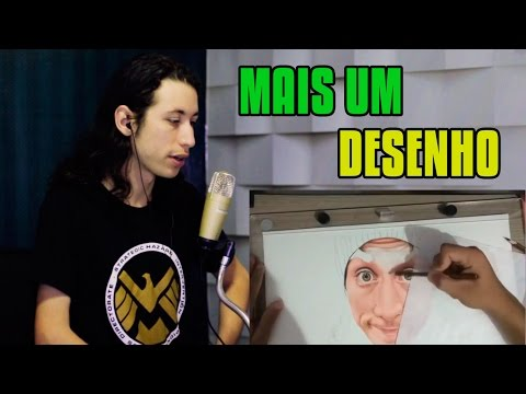 REACT Desenhando YouTube (Moreno) ReactBrasil [Igor Santana art] #2275