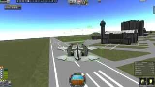 "KSP 0.23 - BATVTOL doing ""Zippy de Doodah: Kerbal Dynamics Light Aircraft Division"" challenge"