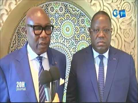 Le chef de l'État Ali Bongo Ondimba reçoit le VPR, le PM et la PCC à Rabat