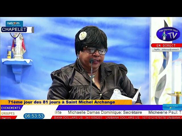 Samedi 18 Septembre 2021 - Chapelet à Saint Michel Archange