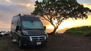Wild Camping on the Road to Hana | Van Life Hawaii Part 2