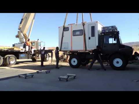 U1300L Unimog Expedition Truck Habitat Lift