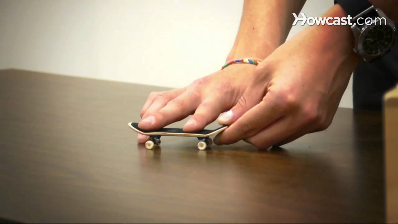 How To Do An Ollie Fingerboarding Youtube