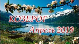 КОЗЕРОГ Апрель 2019...
