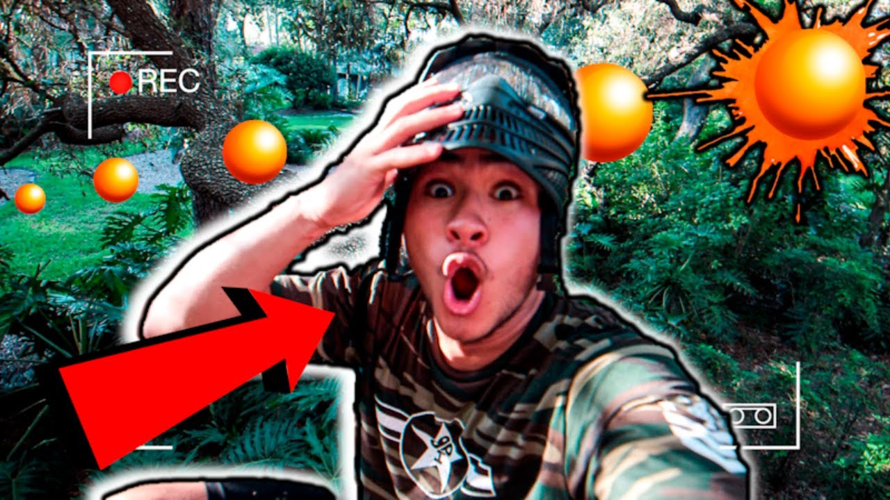 PAINTBALL HIDE and SEEK!!