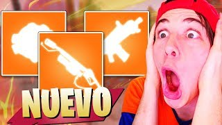 Video de **IMPORTANTE** 3 NUEVAS ARMAS Y TODO LO QUE NO SABES FORTNITE Battle Royale