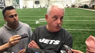 Jets' Joe Vitt bristles at Gregg Williams question