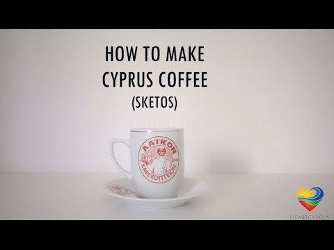 How to make Cyprus Coffee