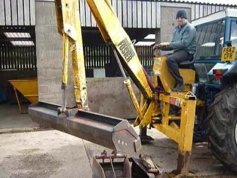 Foster D2P Rear Mounted Digger /Power Arm