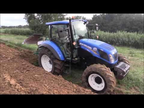 New Holland T4.105 Super Steer + Bivomere Reversibile Pietro Moro Europa 18