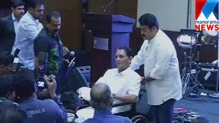 Mohanlal and Jagathi again in same stage     Manorama News