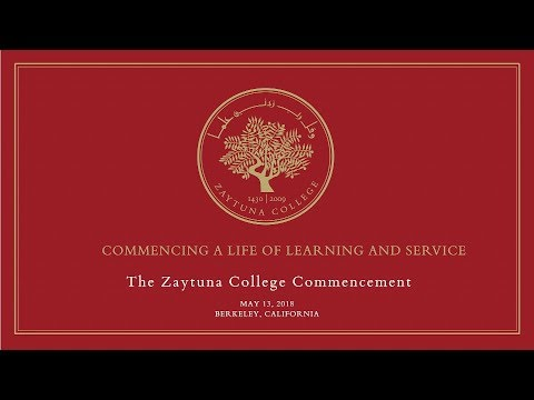 Zaytuna College Commencement 2018