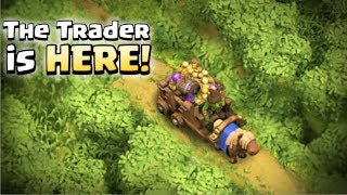 Trading in Clash of Clans With Gameplay (UPDATE CONCEPT)
