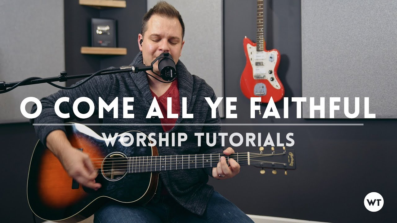 o come all ye faithful with free chord charts acoustic one take youtube. Black Bedroom Furniture Sets. Home Design Ideas