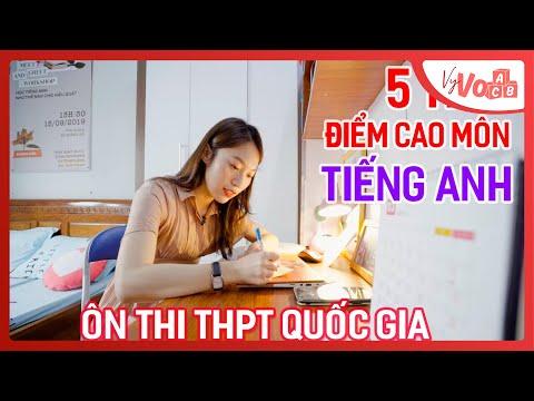 Cách ôn thi điểm cao tại nhà môn Tiếng Anh THPT Quốc gia   VyVocab Ep.45   Khánh Vy