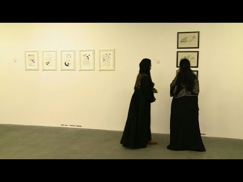 Saudi artists show less conservative image of kingdom