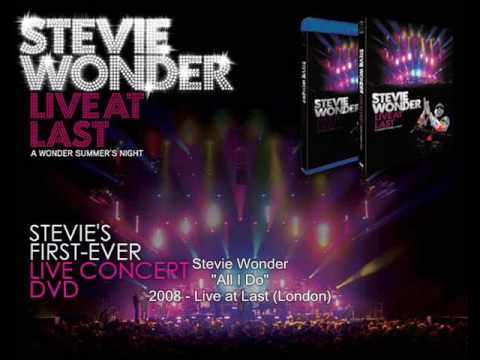 Stevie Wonder - All I Do (Live At Last)
