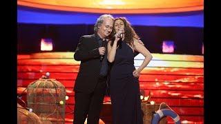 Pepa Aniorte y Secun de la Rosa cantan 'Mediterráneo' como Lolita y Serrat - Tu Cara Me Suena