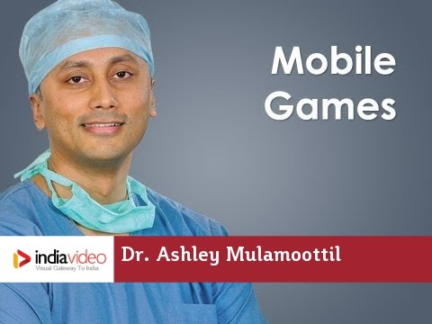 How mobile games help to develop vision in Lazy Eye? Dr. Ashley Mulamoottil explains