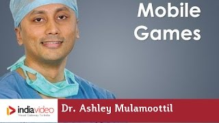How mobile games help to develop vision in Lazy Eye - Dr. Ashley Mulamoottil Explains | India Video