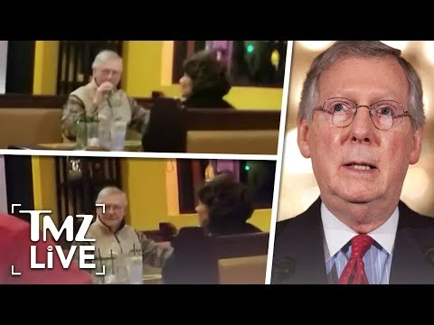 Mitch McConnell Under Attack At Restaurant! | TMZ Live
