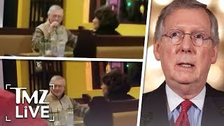 Mitch McConnell Under Attack At Restaurant! | TMZ Live