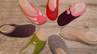 Socks and slippers for you (free knitting pattern) 🌈Sizin için çorap ve patik (ücretsiz örgü modeli)