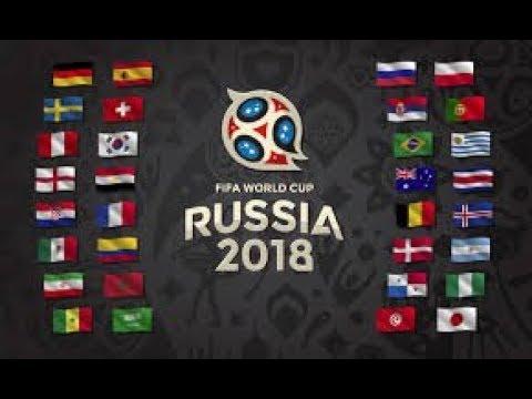 FIFA 18 WORLD CUP - SIMULATION!