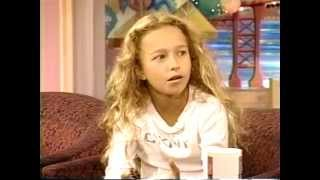 Hayden Panettiere  interview  2000. Age 11