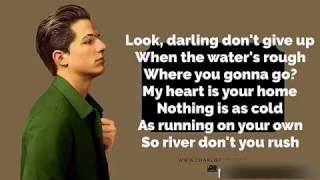 River - Charlie Puth ( Lyric Video)