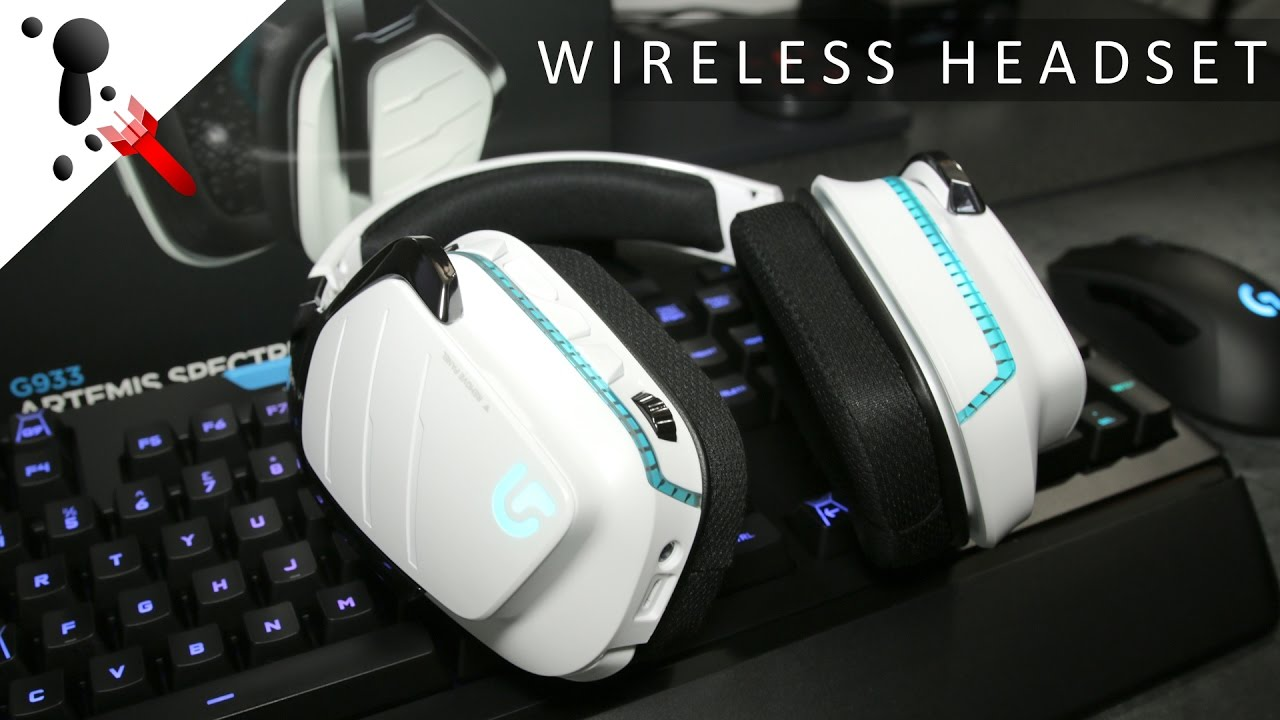 Logitech G933 Artemis Spectrum Snow Review (Wireless)