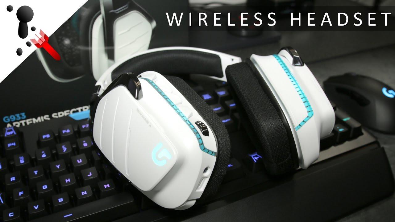 e37999a5438 Logitech G933 Artemis Spectrum Snow Review (Wireless) - YouTube