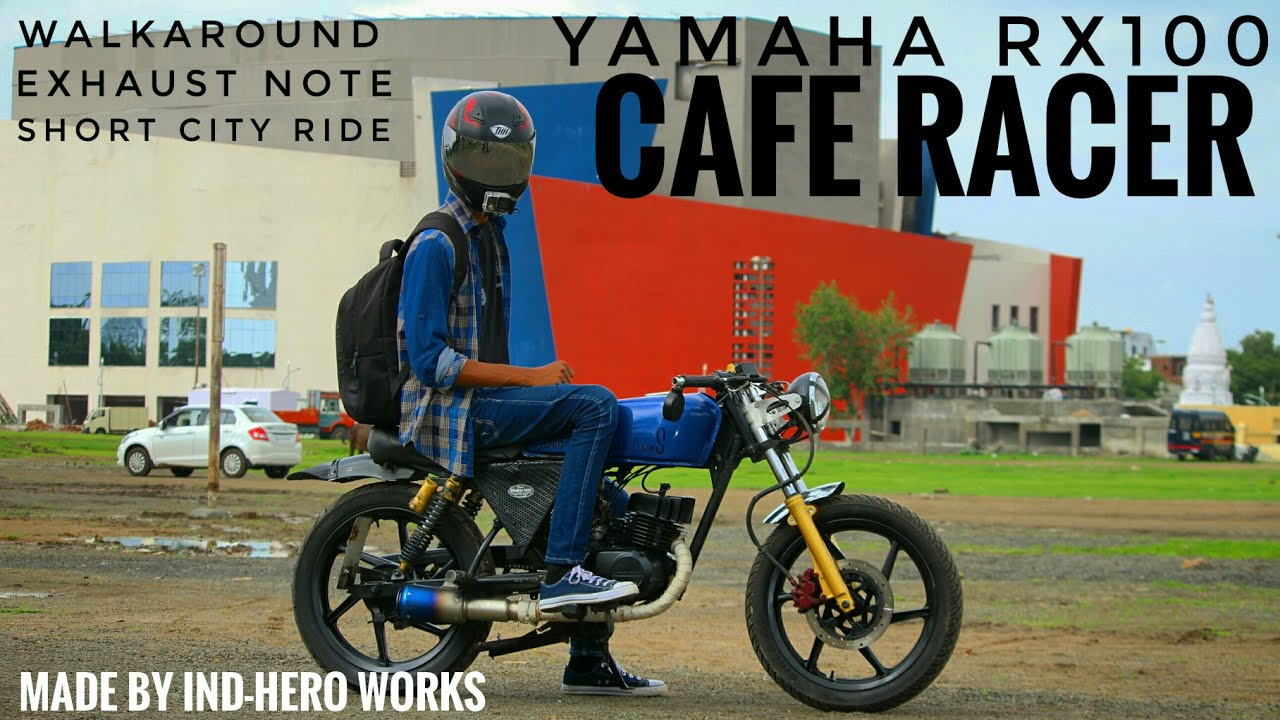 Rx 100 Modified Into Cafe Racer | Newmotorjdi co