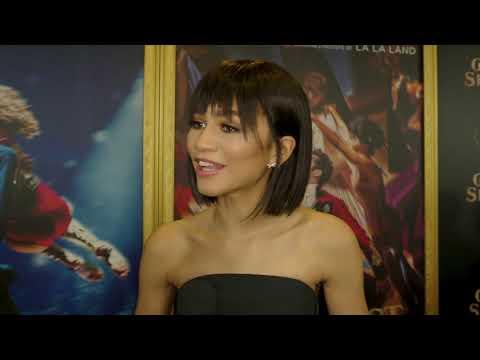 "The Greatest Showman: Zendaya ""Anne Wheeler"" Red Carpet Interview"