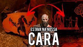 God of War 4 - O Segredo Estava Na Sua Cara ! - Kratos esta sendo manipulado