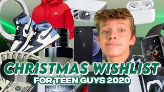 CHRISTMAS WISHLIST 2020 - Gift Guide for Teen Guys