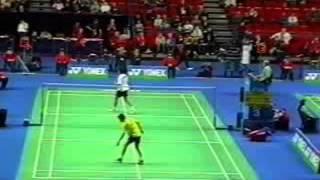 aamir ghaffar vs lin dan yonex all england 2005