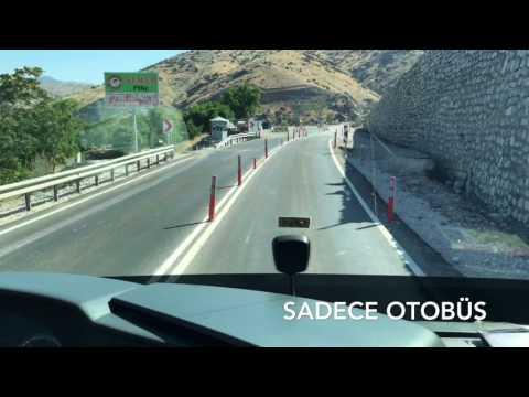 Özlem Diyarbakır Travego S İstanbul-Ankara-Malatya-Diyarbakır Seferi Virajlı Kömürhan Yolu