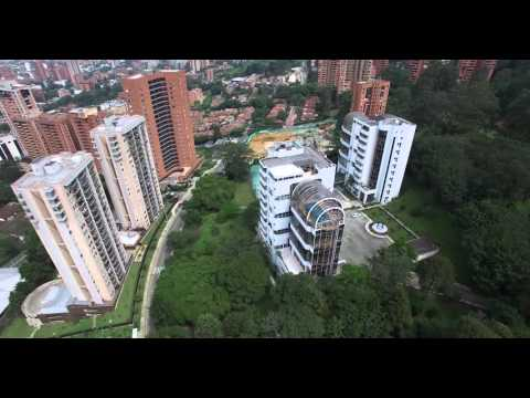 Medellin, Colombia - Aerial