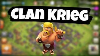 Clash of Clans Lets Play Clankrieg (german) 3 Sterne angriffe
