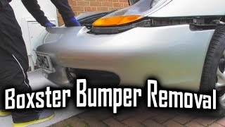 Porsche Boxster 911 996 986 Front Bumper Easy Removal Guide