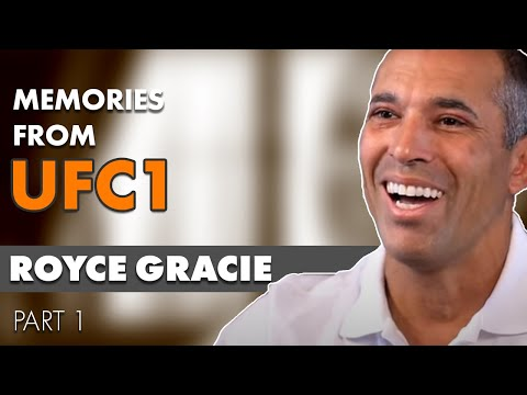 Royce Gracie  20th Anniversary memories from UFC 1 part 12