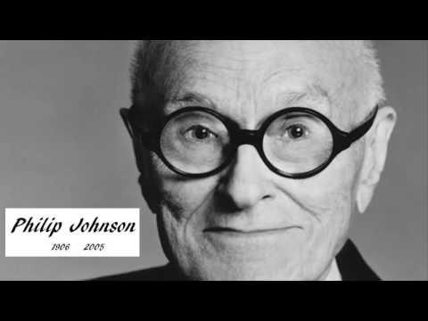 Philip Johnson El Primer Premio Pritzker de Arquitectura