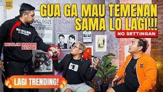 Exclusive  Coki Pardede Dan Tretan Muslim Berantem  Pingin Masuk TV