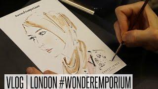VLOG LONDON #wonderemporium & The Beach   NABIILABEE