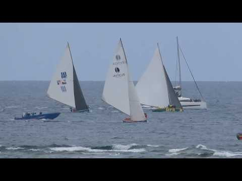 Anguilla Day 2019 Boat Race Passing Upper Shoal Bay