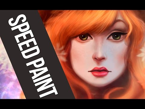 Speed Painting Portrait #5 Photoshop [ Digital Painting ] Patricia Lira