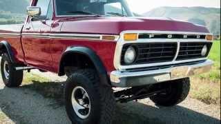 1974 Ford F100 Ranger, 428 Cobra Jet V8, Frame Up Restore, New Paint & Interior. AMAZING POWER!!